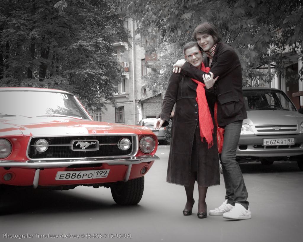 Из Архивов фотографа: Один день с Мустангом и Катласом