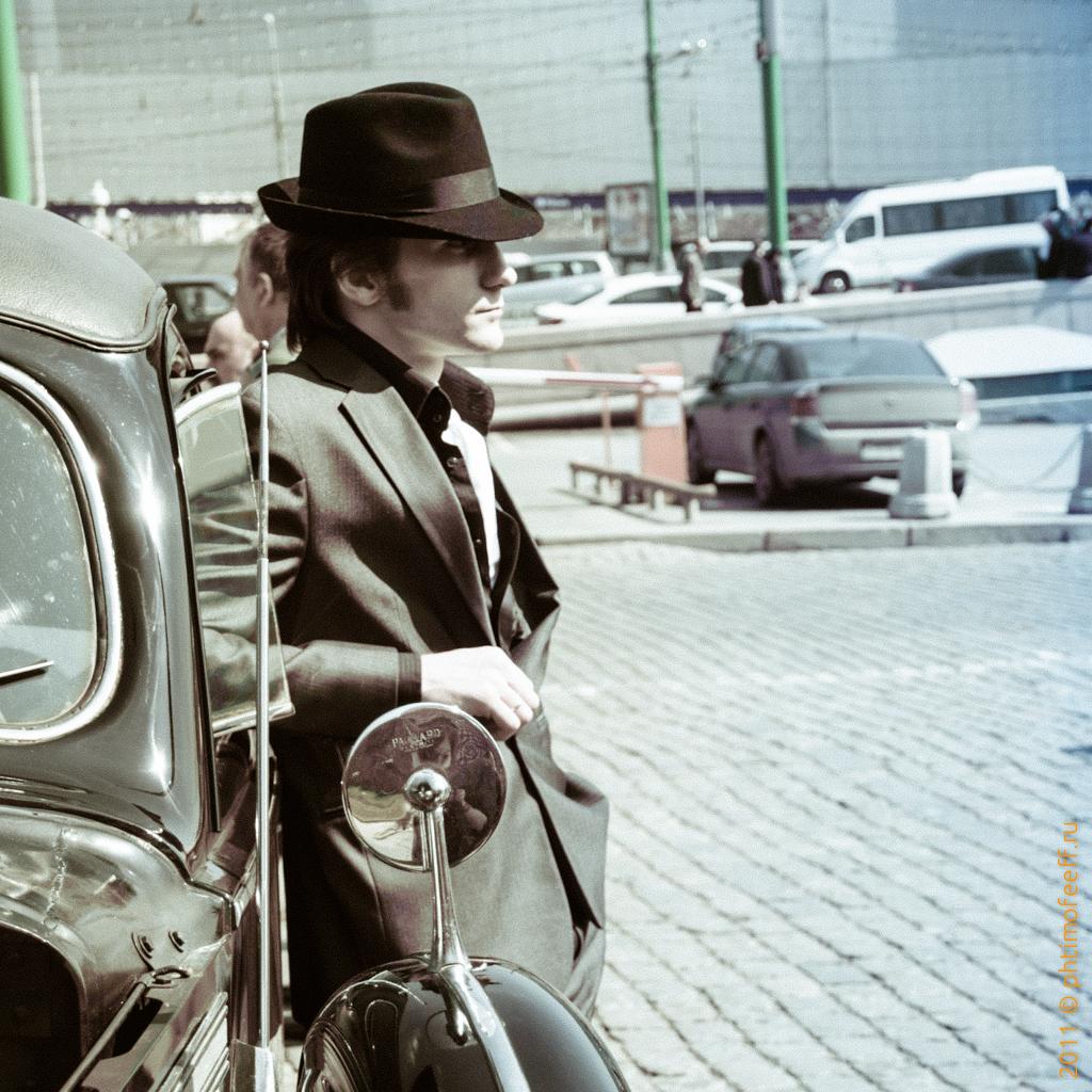 Из Архивов фотографа: Ретро Ралли 2011 год, Открытие сезона РККА в Москве