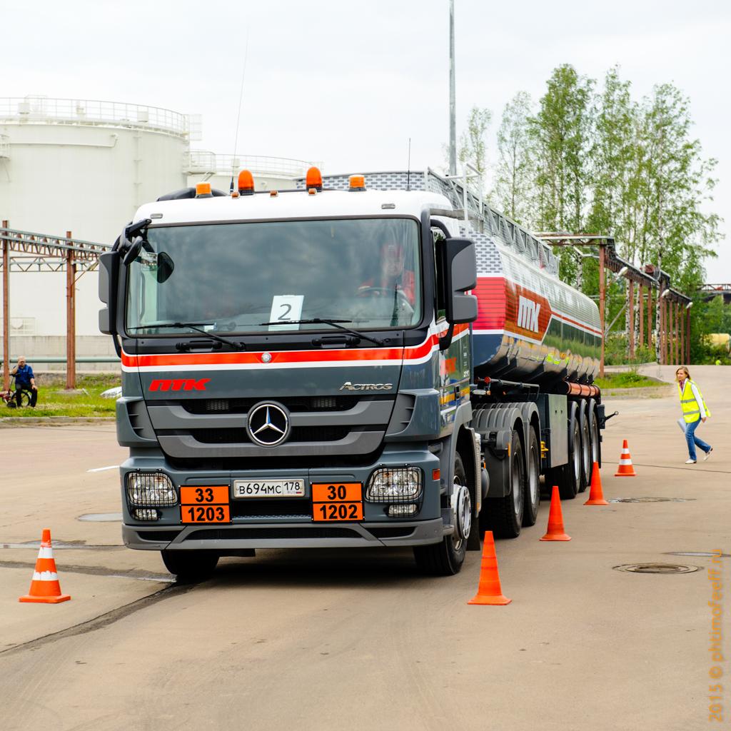 ПТК. Конкурс водителей бензовозов на нефтебазе «Ручьи»