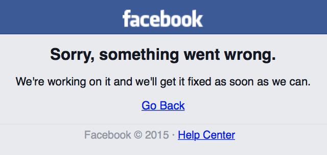 #Фейсбук опять влёжку лежит...